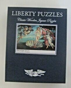 Liberty Wooden Puzzle Birth of Venus Botticelli Used