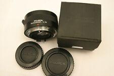 Fujica 2X Teleconverter. Fuji AX SLR fit