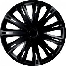 "VOLVO V50 16"" 16 INCH CAR VAN WHEEL TRIMS HUB CAPS BLACK"