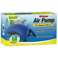 Tetra Whisper Silent Air Pump 40-60 Gallons Water Aquarium Fish Tank Flow Filter