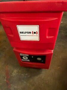 Novair / Belfor F1000 Negative Air Machine Scrubber 1000 CFM w/ HEPA FILTER