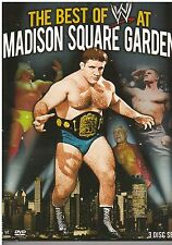 The Best of WWE At Madison Square Garden (DVD, 2013, 3-Disc Set) {2488}