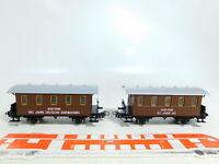 BX13-0,5# 2x Primex/Märklin H0/AC Personenwagen (aus Jubiläumszug 2750), NEUW