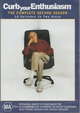 D.V.D MOVIE  DB396  CURB YOUR ENTHUSIASM / THE COMPLETE SECOND SEASON   DVD