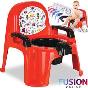 Kids Potty Seat Plastic Training Seat Toilet Toddler Baby Child Potty Trainer