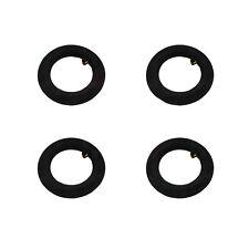 """4 Stück Schlauch für Reifen 200 x 50 mm Zoll 8 x 2"""" Ventil AV 90/90°"""