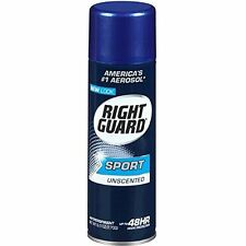 5 Pack Right Guard Sport Anti Perspirant Deodorant Spray Unscented 6oz Each