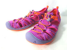 KEEN Moxies Youth US 6M Puple Wine / Nasturtium Sporty Sandals Shoes