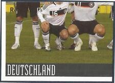 PANINI EURO 2008- #205-DEUTSCHLAND-GERMANY TEAM PHOTO-BOTTOM LEFT
