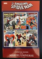 The Amazing Spider-Man Official Index of the Marvel Universe TPB