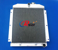 NEW 3 Rows Aluminum Radiator for Chevy Pickup Truck 1947-1954 48 49 50 51 52 53