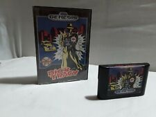 Dick Tracy (Sega Genesis, 1990) Cartridge & Case ☆Authentic Tested ☆ No Manual