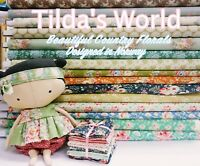 MIXED Tilda Cottage Floral Country Print 100% Cotton Patchwork Quilt Fabric