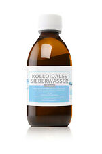 kolloidales Silber, Silberwasser *25 ppm - 1000 ml argento colloidale