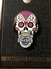 NEW Hard Rock Cafe Live Orlando 2020 Sugar Skull Pin. Hear No Evil