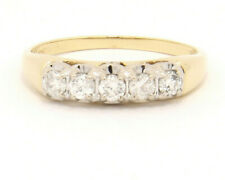 14k Yellow Gold Ring with .50 ctw Diamonds Size 8.75