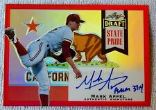 Philadelphia Phillies Mark Appel 2013 Leaf State Pride Red Prismatic Auto #1/5