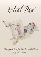 Künstlerblock Artist Pad - 100Blatt - Edles, chamoisfarbenes Papier, *SÄUREFREI*