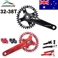 170mm Crank MTB Bike Crankset BB 104BCD Bicycle Chainset Narrow Wide Chainring