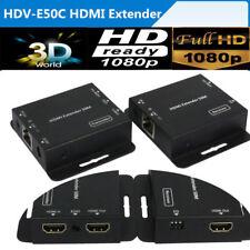 HDV-E50C HDMI Extender Converter 1080P HD Over Single CAT5E/CAT6 with IR Control