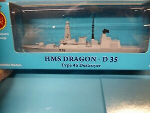 HMS Dragon D35 type 45 destroyer from Triang Minic ships, in special box