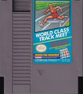 WORLD CLASS TRACK MEET (1988) nes nintendo entertainment system NTSC USA IMPORT