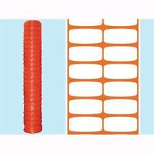 Rete recinzione per cantieri BRIXO LIMES 1x50 metri 120 gr/mq.