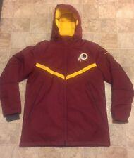 SZ XL $400 Nike Washington Redskins Sideline Coat On Field 550 Down 638957-677
