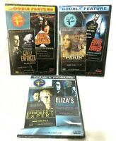 3 Double Feature DVDs Last Time Paris Family Enforcer Eliza's Horoscope New