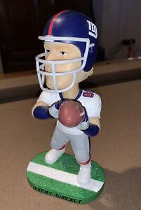 """BOBBLEHEAD Doll 8"""" NY Giants Jeremy Shockey 80  Bobble Dobbles"""