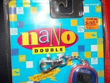 Vintage 1997 98 Tiger Nano Double pet virtual kitten cat dog puppy pet game gigi
