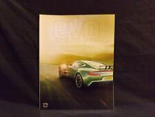 EVO MAGAZINE ISSUE 179 FEBRUARY 2013 COLLECTOR'S EDITION. ASTON MARTIN ONE-77.