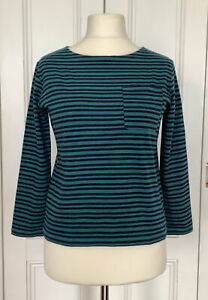 """TOAST STRIPED TOP SMALL 36"""" BUST LONG SLEEVE 100% COTTON"""