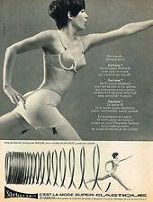 PUBLICITE  1966   SARLANE  soutien gorge sous vetements gaine