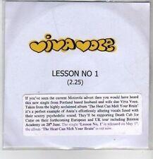 (CO522) Viva Voce, Lesson No 1 - 2006 DJ CD