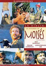 SEALED - La Historia De Moises DVD NEW Ben Kingsley BRAND NEW