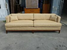 CHIC ROBSJOHN GIBBINGS FOR WIDDICOMB  MID CENTURY TUXEDO EVEN ARM SOFA