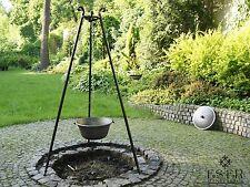 Ungarischer Gulaschkessel aus Gusseisen 10.5 L mit Gusseisendeckel und Dreibein