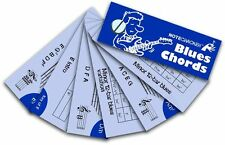 Notecrackers Blues Guitar Chords Cards Learn to Play Music Lesson Tutor