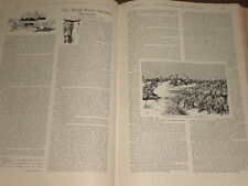 1897 ARTICLE ~ ROYAL MARINE BARRACKS PLYMOUTH ~ TOUR