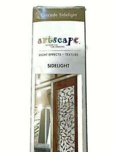 "Artscape Cascade Sidelight 12"" x 83"" Textured Glass Visuals window film"