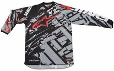 Maillots de cross rouge Alpinestars