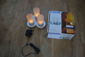 Philips Imageo Rechargeable Candle Lights Yellow, set of 3 with charger