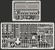 Eduard 1/35 Foto-Grabado conjunto de detalle de Dragón Jagdtiger #6050 #6051