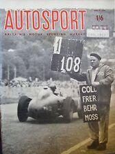 Autosport June 15th 1956 * F2 COOPER CLIMAX & 1000 Kms de Paris & Swedish Rally *