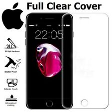 4D FULL CLEAR CURVED COVER TEMPERED GLASS SCREEN PROTECTOR FOR APPLE IPHONE 8