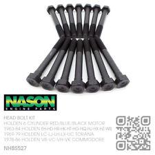 NASON HEAD BOLT KIT 6 CYL 161-173-186-202 MOTOR [HOLDEN HK-HT-HG-HQ-HJ-HX-HZ-WB]