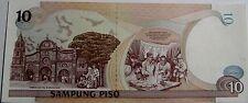 """BILLETE """"   FILIPINAS """"  10  PISO   AÑO  1998     UNC    PLANCHA"""