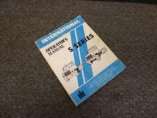 1984 International 1824 1853 1854 Truck Owner Operator Maintenance Manual