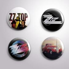 4 ZZ TOP ELIMINATOR-  Pinbacks Badge Button 25mm 1''